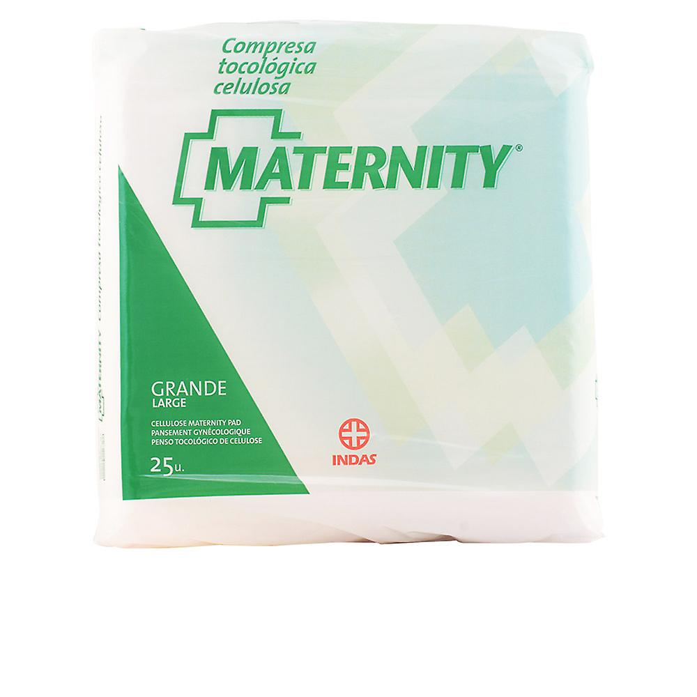 Indasec Maternity Compresa Celulosa Anatomica Grande 25 Units Womens New