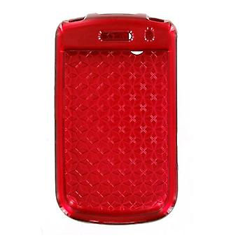 BlackBerry Bold 9650 Tour 9630 Snap On Case - Red (Bulk Packaging)
