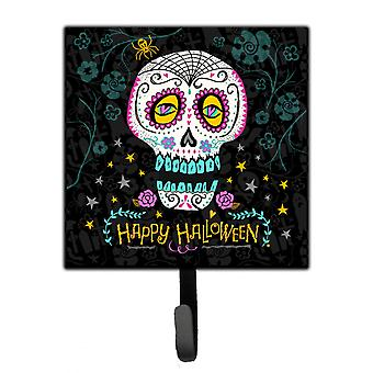 Happy Halloween Day of the Dead Leash or Key Holder