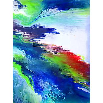 ABSTRACT oil painting, 90x120 cm hand painted 003318080875658