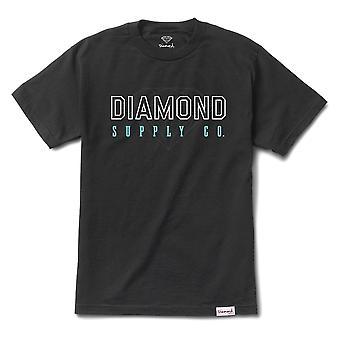 Diamond Supply Co College T-shirt schwarz