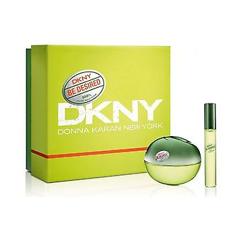 DKNY DKNY Be Desired Gift Set - 50ml Eau De Parfum & 10ml Eau De Parfum Roll On