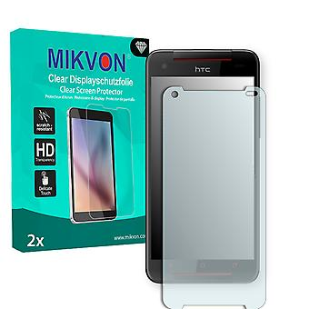 HTC Butterfly S TD-LTE Screen Protector - Mikvon Clear (Retail Package con accessori)