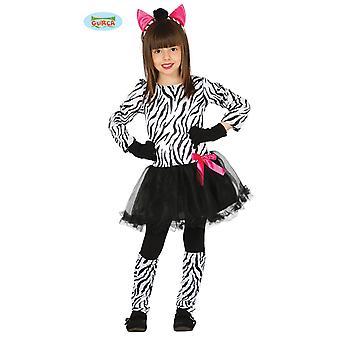 Guirca sweet Zebra costume girl dress animal costume Carnival