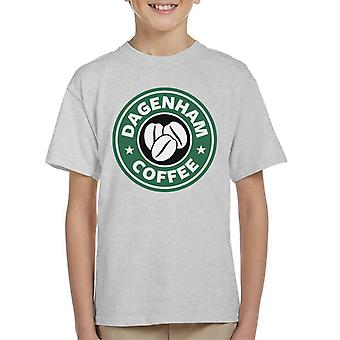 Dagenham Kaffee Starbucks Kinder T-Shirt