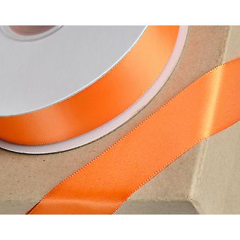 38mm Orange Satin Ribbon for Crafts - 25m | Ribbons & Bows for Crafts