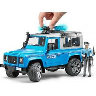 Bruder Landrover Defender Politie
