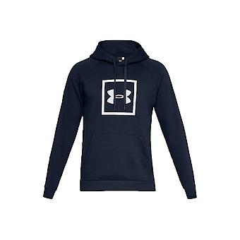 Under Armour Rival Fleece Logo Hoodie  1329745-408 Mens sweatshirt