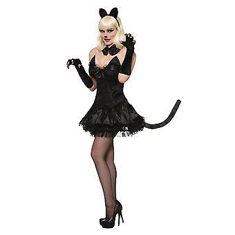 Miss Kitty Cat Black