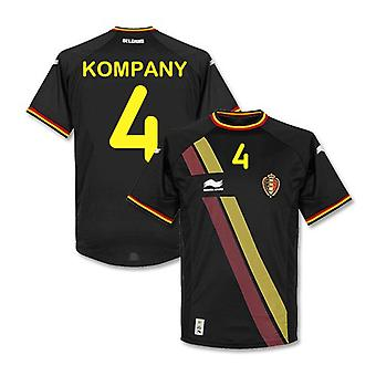 2014-15 Belgium World Cup Away Shirt (Kompany 4)