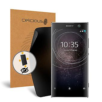 Celicious Privacy Plus 4-Way Anti-Spy Filter Screen Protector Film Compatible with Sony Xperia XA2