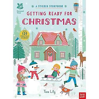 National Trust - Getting Ready for Christmas - A Sticker Storybook by