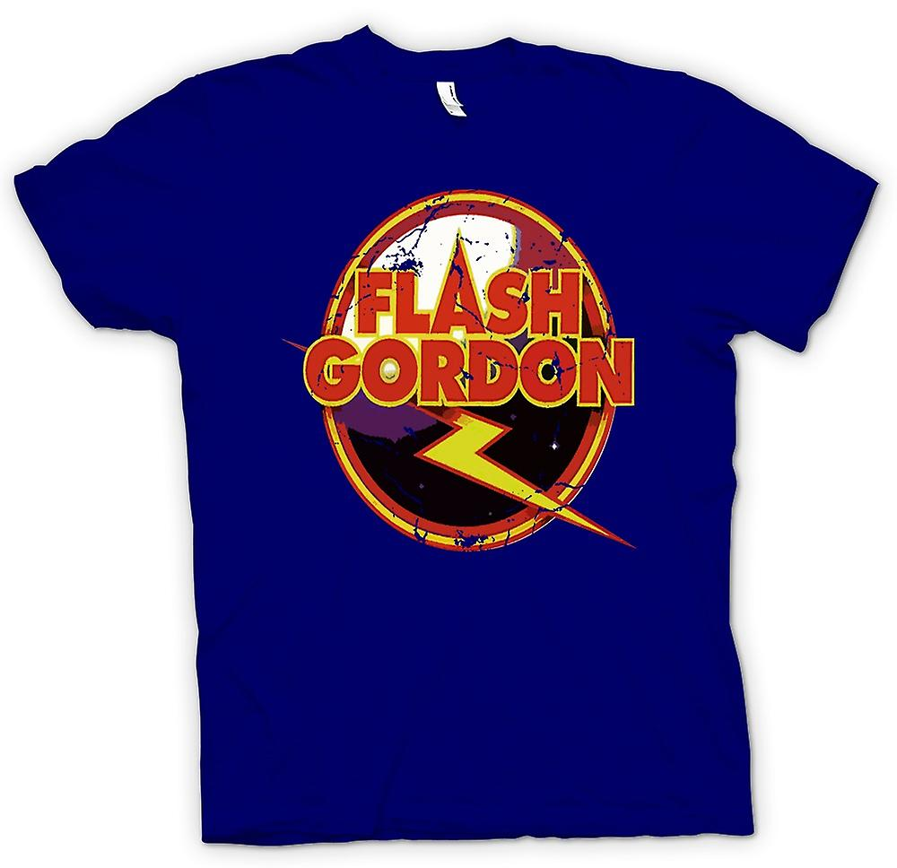 Mens t-skjorte - Flash Gordon Logo - Sci Fi