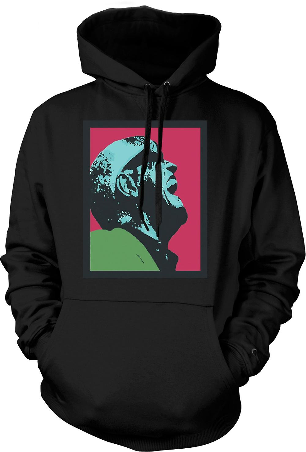 Mens Hoodie - Ray Charles - Pop Art