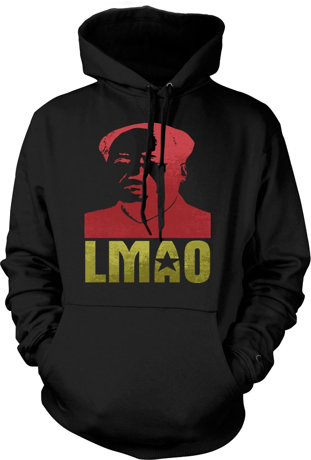 Mens Hoodie - LMAO Chairman Mao - Funny