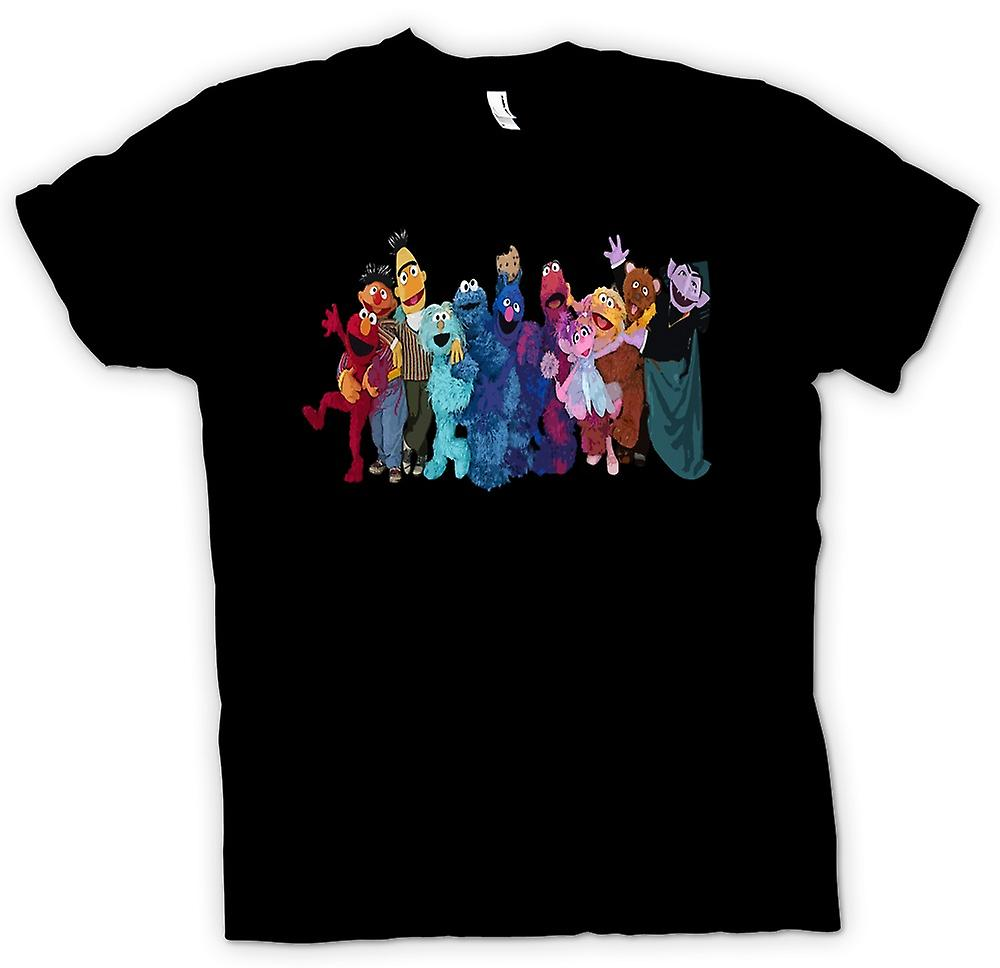 Kids T-shirt - Sesame Street Gang - Tv Show Inspired