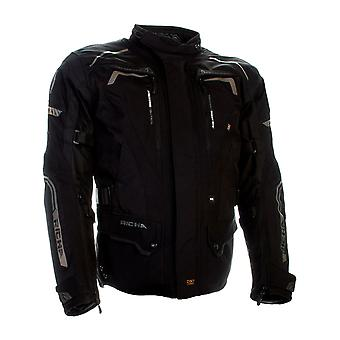 Richa Black Infinity 2 X Waterproof Motorcycle Jacket