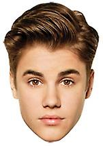 Justin Bieber Card Face Mask