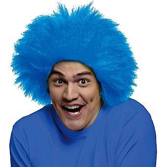 Morsomme parykk blå