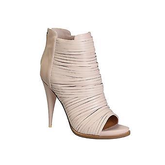 أحذية الكاحل جلدية عارية جيفنشي