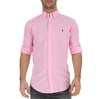 Ralph Lauren Pink Cotton Shirt