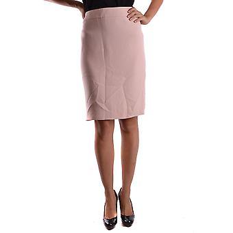 Armani Collezioni rosa bomull kjol