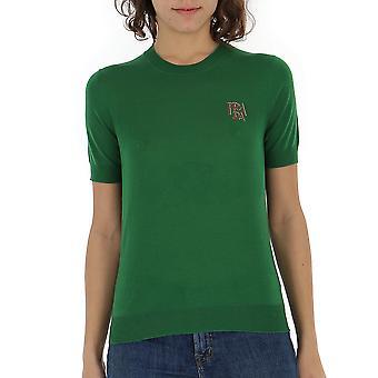Prada Green Wool T-shirt