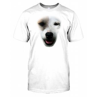 Jack Russel Terrier Pedigree Dog Face Kids T Shirt