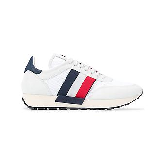 Moncler Horace White Fabric Sneakers