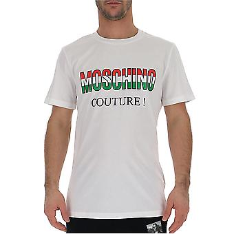 Moschino vit bomull T-shirt