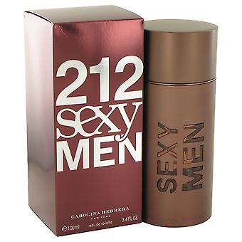 212 Snegoviki door Carolina Herrera Eau De Toilette Spray 3.3 oz/100 ml (mannen)