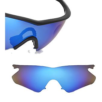 M Frame Heater Replacement Lenses Polarized Blue by SEEK fits OAKLEY Sunglasses