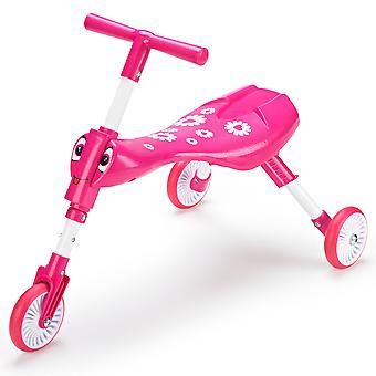 Mookie Toys Scuttlebug Fleur Toddler Trike Pink Ages 1-3 Years