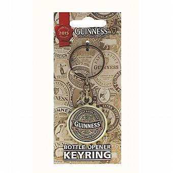 Guinness 2015 Collectors Limited Edition Bottle Cap keyring with bottle opener on reverse  (sg 5313)
