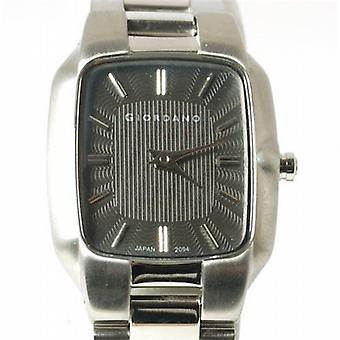 GIORDANO 2094-1 Gents Grey Dial Bracelet Watch