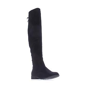 Xoxo Womens TRISHH2 Fabric Closed Toe Knee High Fashion Boots