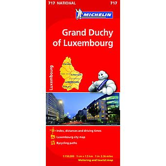 Grand Duchy of Luxembourg National Map 717 - 9782067170810 Book