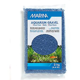 Marina Decorative Aquarium Gravel Blue 2kg