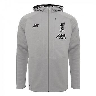 2019-2020 Liverpool Travel Full Zip Hoody (Grey) - Kids