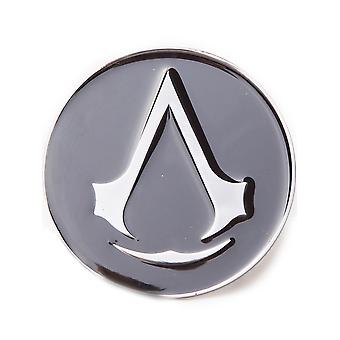 Assassins Creed Black Round Belt Buckle