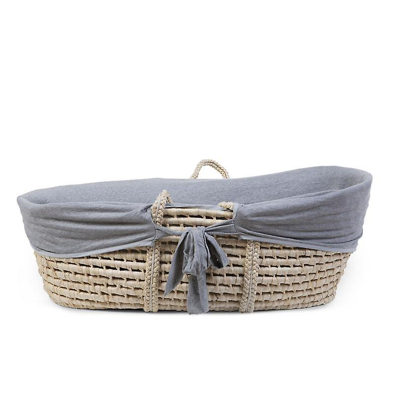 Enfant accueil-Moses Basket Upholstery-Jersey gris