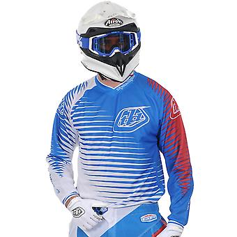 Troy Lee Designs Blue-White 2011 GP Voltage MX Jersey