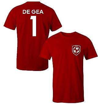 David De Gea 1 Manchester United Style Player Kids T-Shirt