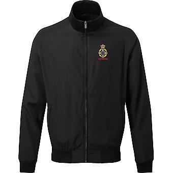 Royal Army Chaplains Department-christelijke veteraan-licentie Britse leger geborduurd Harrington jas