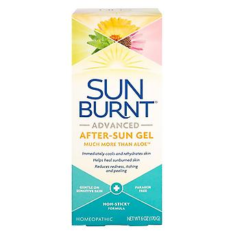 Sunburnt advanced after-sun gel, homeopathic, 6 oz