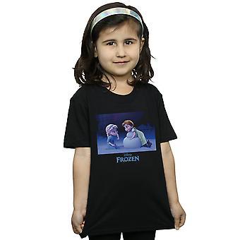 Disney Girls Frozen Build A Snowman T-Shirt