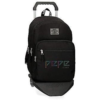 Pepe Jeans Osset Backpack - 46 cm - 21.39 liters - Black (Negro) 64524N1