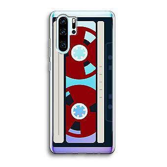 Huawei p30 pro caso transparente (Soft)-aqui ' s sua fita