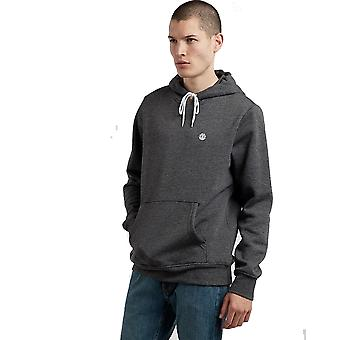 Element Cornell Classic Pullover Hoody in Charcoal Heathe