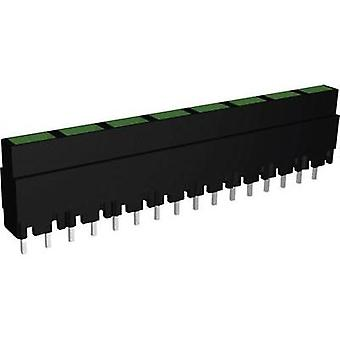LED lineær array 8 x Green (L x b x H) 40.8 x 3.7 x 9 mm Signal konstruere ZALS 082